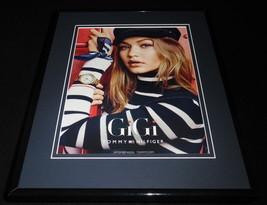 Gigi Hadid 2016 Tommy Hilfiger Framed 11x14 ORIGINAL Advertisement - $32.36