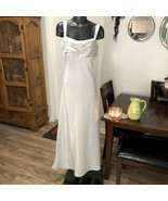 ASPEED Silver Sleeveless Dress Women's XS Bridesmaid Prom Formal Wedding... - $45.79