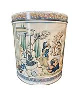 RARE Benandre' Bath Oil Crystals Round Tin 19th Century Persian Art TIN ... - $17.81