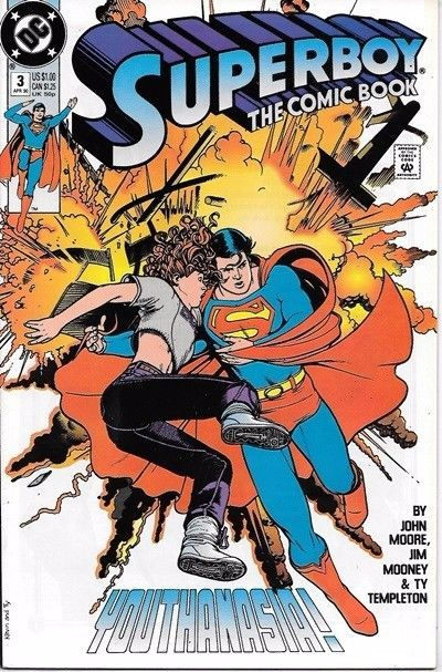 Superboy Comic Book Series 2 #3 DC Comics 1990 VERY FINE/NEAR MINT NEW UNREAD
