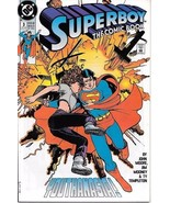 Superboy Comic Book Series 2 #3 DC Comics 1990 VERY FINE/NEAR MINT NEW U... - $2.25