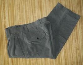 mens pants Pants with Pleats and Cuff hem New 32 x 30.5 - $12.38