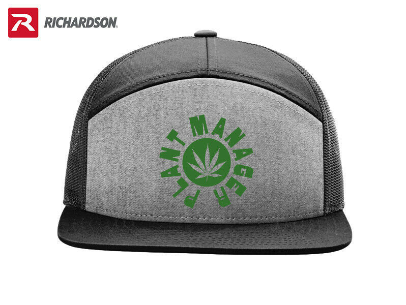 Primary image for PLANT MANAGER MARIJUANA RICHARDSON FLAT BILL SNAPBACK HAT FREE SHIPPING in BOX*