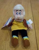 """Pinocchio GEPPETTO 9"""" Disney Store Bean Bag Plush Toy NEW - $14.85"""