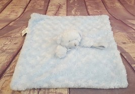 Blankets & Beyond Blue Teddy Bear Security Blanket Lovey Nunu Pacifier H... - $16.14