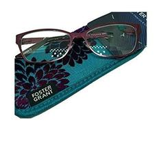 Foster Grant PollyAnne Reading Glasses, Pink Frame (+1.25) - $24.99