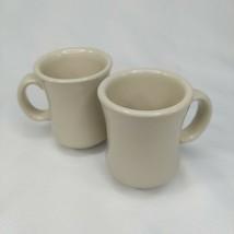 Vtg Crestware Ceramic C-Handle 7.5oz Bell-Shaped Mug CM41W So2 - $16.45
