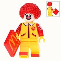 Single Sale Clown Ronald McDonald Chicken Store Minifigures Building Block Toy - $3.95
