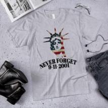Never FORGET t-shirt / September 11-2001 t-shirt / September 11 T-Shirt  image 2