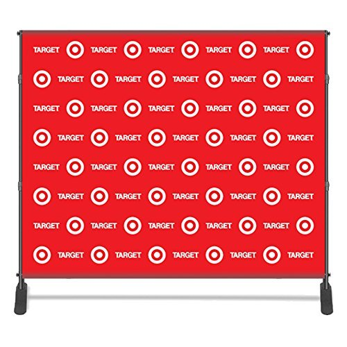 Custom Vinyl 8ft X 8ft Step and Repeat UV Full Color Banners for Any Event, Same