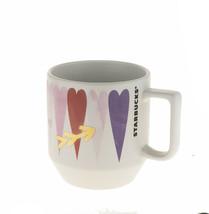 Starbucks Valentine Day Pink Color Heart Arrow Grande Ceramic Coffee Mug... - $15.93