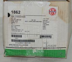 US Motors 1862 Fan Condenser K055WMW1282012B New In Box image 9