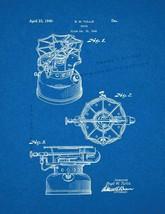 Stove Patent Print - Blueprint - $7.95+