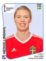2019 Panini FIFA Women's World Cup France Sticker #463 Hedvig Lindahl - $2.95