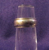 Vintage Marked STERLING Plain Ring Or Band Size 6 - $14.21