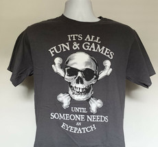 Disney Jolly Roger Eyepatch T Shirt Mens Medium + Mickey Mouse Pirate Scarf - $24.70