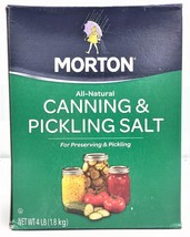 Morton Canning & Pickling Salt (16 Pounds) - $28.21