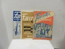 Singspiration Series   Favorites Books 2-4-5 - $14.70