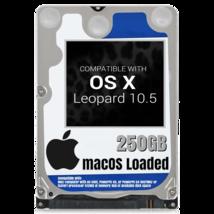 macOS Mac OS X 10.5 Leopard Preloaded on 250GB Sata HDD - $24.99