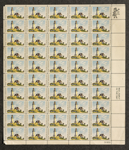 Maine Statehood Stamp 1820-1970, Sheet of 6 cen... - $7.50
