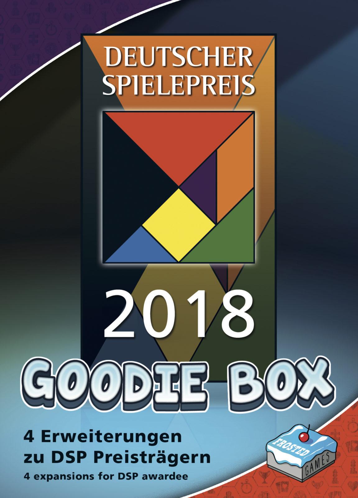 Deutscher Spielepreis 2018 - Goodie Box #ghj