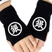 Hot Anime Gintama Silver Soul Finger Cotton Knitting Gloves Mitten Lovers Access - $37.50