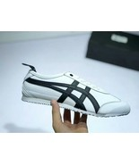 Onitsuka Tiger Unisex Mexico 66 Light Grey/White/Black Casual Shoe - $270.00