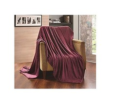 All American Collection New Super Soft Solid Embossed Sally Throw Blanke... - $33.39