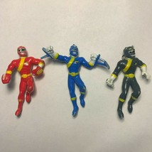 Mighty Morphin Power Rangers Wild Force Christmas Ornament Lot  - $29.69