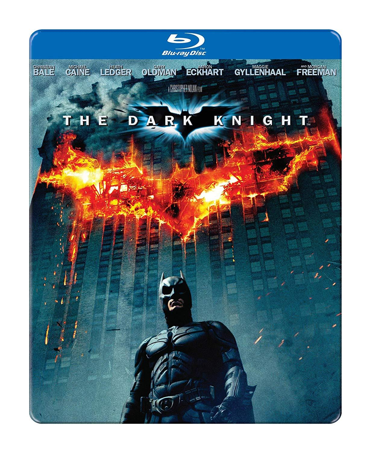 The Dark Knight Steelbook [Blu-ray]