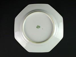 Rosenthal Meissen Octagonal Salad Plate, Antique Multicolor Floral, Choi... - $17.50