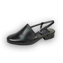 PEERAGE Remi Women Wide Width Closed Toe Low Heeled Leather Slingback Sandal - $44.95