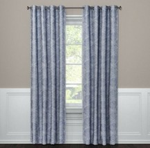 "Project 62 BLUE Modern Stroke Blackout Curtain Panel 50x95"" New - $27.71"