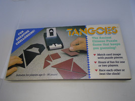 Tangoes Ancient Chinese Puzzle Game Rex Games Brain Teaser 2001 Tangram ... - $14.36