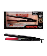 """Red Pro Silicone Protexion Slimmer & Longer 1"""" Flat Iron 460F Max #FIPS100U - $59.35"""