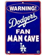 Los Angeles Dodgers MLB Fan Man Cave Parking Sign - $10.84