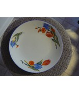 Tabletops Unlimited dinner plate (Lovely Tulip) 4 available - $6.19