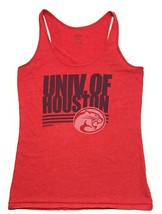 Adidas University of Houston Cougars Crystal Trefoil Tank Top Womens Siz... - $10.29