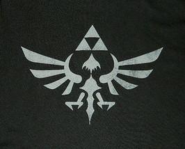 Nintendo Zelda Princess Triforce Logo Black T-Shirt, NEW UNWORN (S-2X) - $18.33