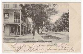 Main Street Monticello New York 1905 postcard - $7.43