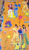 Hi-5 Hi 5 Wrapping Paper Sheet Gift Book Cover Birthday Decoration x2 Party NEW - $12.82