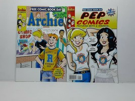 ARCHIE AND PEP FREE COMIC BOOK DAY ISSUES - FREE SHIPPING - $14.03