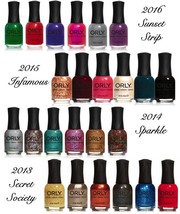 NEW Orly Nail Lacquer Polish 2013-2016 Collections - B2G1 Free! Choose S... - $7.99