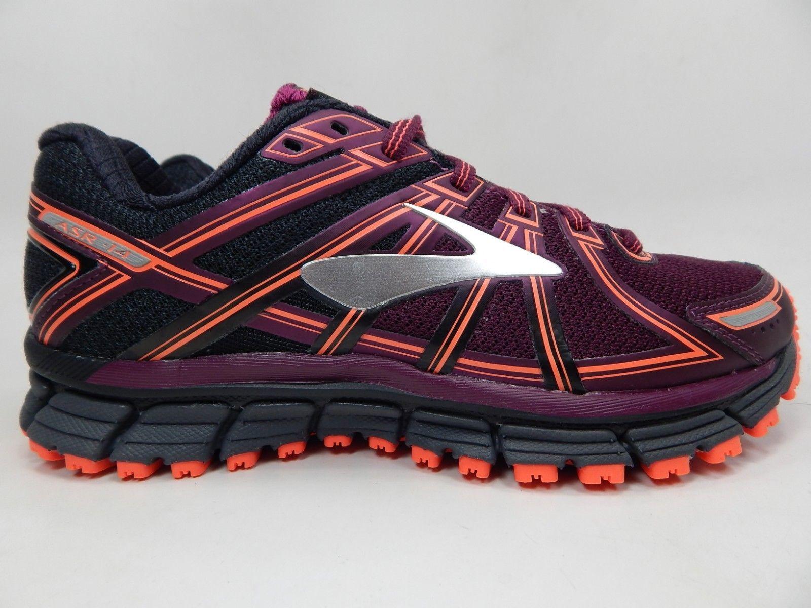 3804a32ef70b3 Brooks Adrenaline ASR 14 Sz 7 M (B) EU 38 Womens Trail Running Shoes