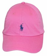 New Polo Ralph Lauren Mens Twill Signature Ball Cap, Maui Pink One size - $41.05