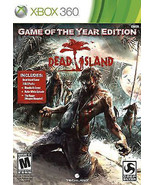 Dead Island -- Game of the Year Edition (Microsoft Xbox 360, 2012)M - $5.32