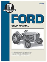 Tractor Shop Manual, Ford Series Gas - $35.63