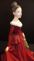 Royal Doulton 2014 Songs of Christmas Mistletoe And Wine HN5701 Hand Signed - $123.75