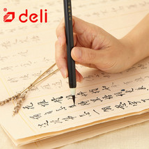 Deli® Brush Pen 1pc Write Directly Soft  For Calligraphy Practice School... - $4.85