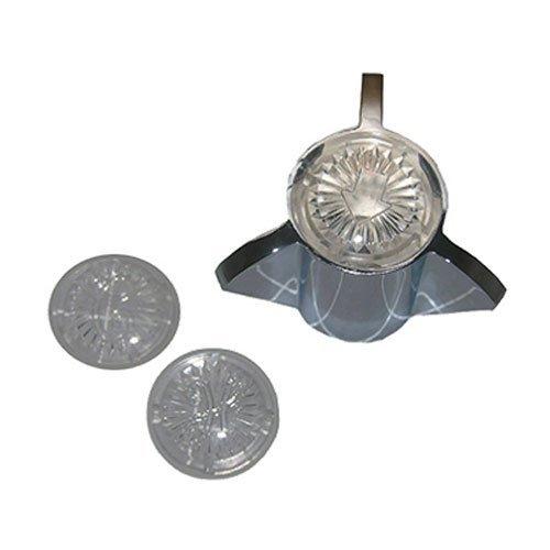 Lasco Chrome Metal Hot/Cold/Diverter Tub/Shower Handle for Sayco, HC-55MB - $7.49